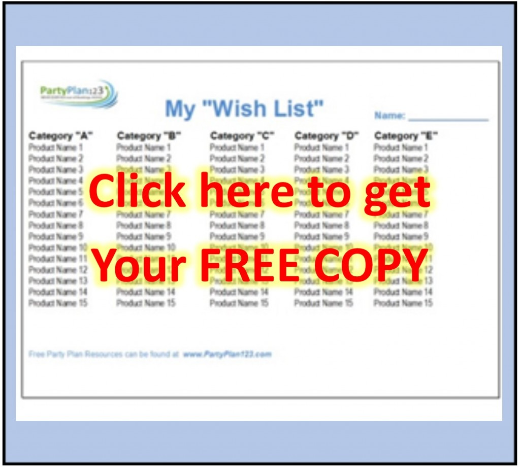 Party Guest List Template thanksgiving planner 5 free – Party Guest List Template