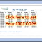 Wish List Link