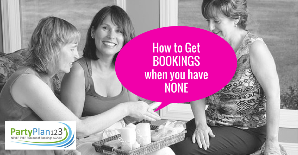 How to get bookings when you have none