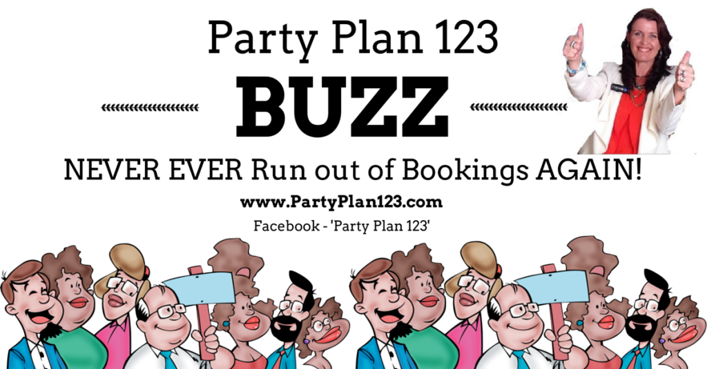 Party Plan 123 BUZZ Banner