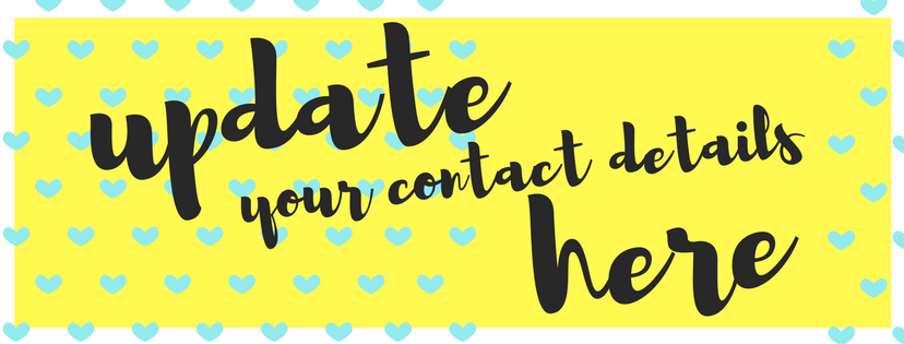 UPDATE your Contact Details Here