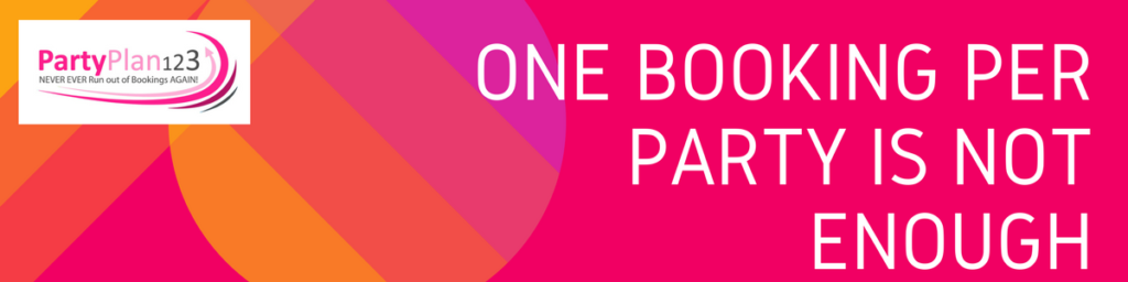 ONE booking per party is not enough