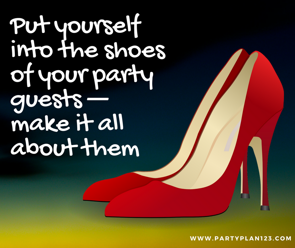 How can i book parties without being pushy party plan 123 shoes of the guest solutioingenieria Gallery
